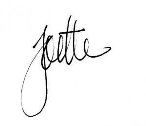 Joette-sig